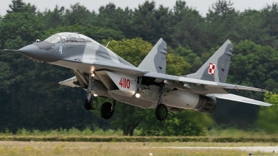Photo ID 142063 by Alex van Noye. Poland Air Force Mikoyan Gurevich MiG 29GT 9 51, 4110