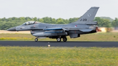 Photo ID 142126 by Alex van Noye. Netherlands Air Force General Dynamics F 16AM Fighting Falcon, J 201