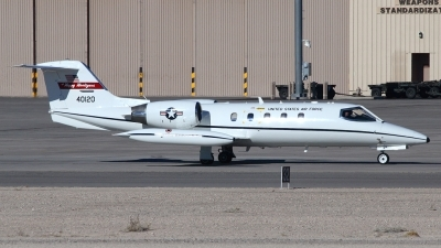 Photo ID 18497 by David Marshall. USA Air Force Learjet C 21A, 84 0120