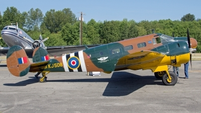Photo ID 142227 by Aaron C. Rhodes. Private Commemorative Air Force Beech D18S, N70GA