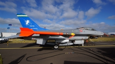 Photo ID 142769 by Lukas Kinneswenger. Denmark Air Force General Dynamics F 16AM Fighting Falcon, E 191