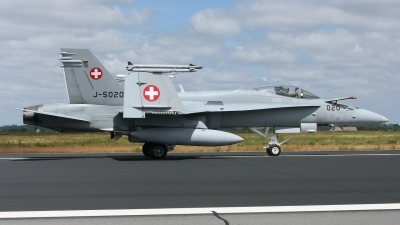 Photo ID 142206 by Rainer Mueller. Switzerland Air Force McDonnell Douglas F A 18C Hornet, J 5020