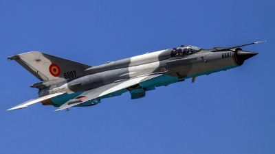 Photo ID 142187 by Aleksey Hinkov. Romania Air Force Mikoyan Gurevich MiG 21MF 75 Lancer C, 6807