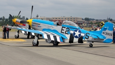 Photo ID 142292 by Aaron C. Rhodes. Private Olympic Flight Museum North American P 51D Mustang, NL51KD