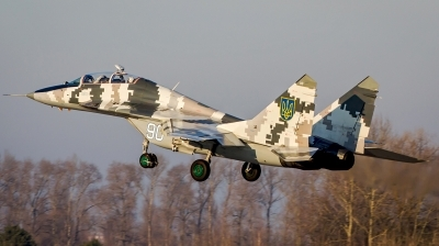 Photo ID 142305 by Antoha. Ukraine Air Force Mikoyan Gurevich MiG 29UB 9 51, 90 WHITE