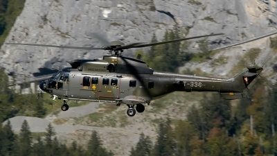 Photo ID 142377 by Sven Zimmermann. Switzerland Air Force Aerospatiale AS 532UL Cougar, T 336
