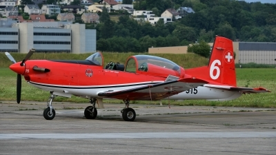 Photo ID 142469 by Martin Thoeni - Powerplanes. Switzerland Air Force Pilatus NCPC 7 Turbo Trainer, A 915