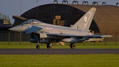 Photo ID 142840 by Niels Roman / VORTEX-images. UK Air Force Eurofighter EF 2000 Typhoon FGR4, ZJ927