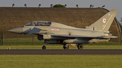 Photo ID 142464 by Niels Roman / VORTEX-images. UK Air Force Eurofighter EF 2000 Typhoon T3, ZJ813