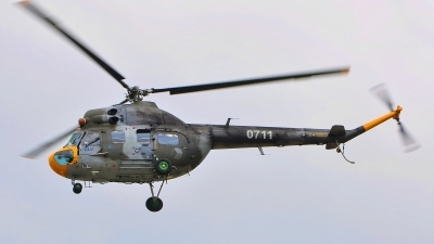 Photo ID 142595 by Radim Spalek. Czech Republic Air Force Mil Mi 2, 0711