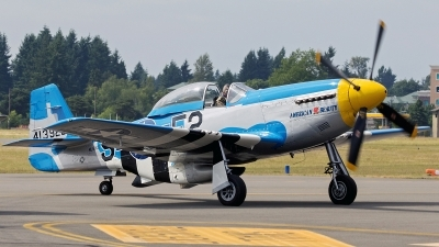 Photo ID 142647 by Aaron C. Rhodes. Private Olympic Flight Museum North American P 51D Mustang, NL51KD