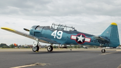 Photo ID 142783 by Aaron C. Rhodes. Private Private North American T 6G Texan, N2983