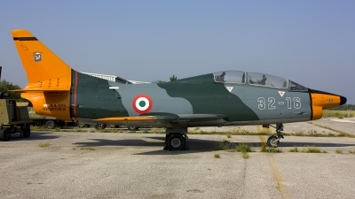 Photo ID 142636 by Claudio Marangon. Italy Air Force Fiat G 91T1, MM6316