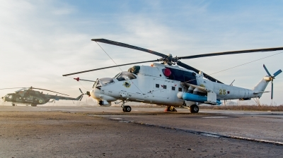 Photo ID 142755 by Antoha. Ukraine Army Aviation Mil Mi 24P, 25 YELLOW