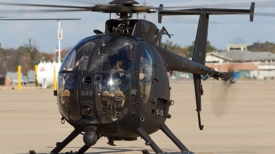 Photo ID 142744 by Nick Thomas. USA Army MD Helicopters AH 6 Little Bird MD 500E, 81 23649