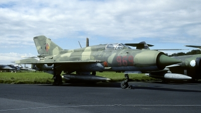 Photo ID 142835 by Joop de Groot. East Germany Air Force Mikoyan Gurevich MiG 21SPS K, 969