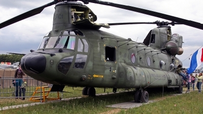 Photo ID 142915 by Jan Eenling. Netherlands Air Force Boeing Vertol CH 47D Chinook, D 101