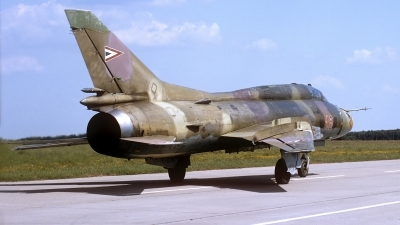 Photo ID 142932 by Carl Brent. Hungary Air Force Sukhoi Su 22M3, 16