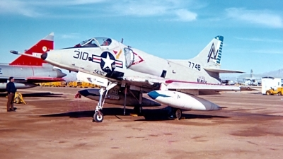 Photo ID 143164 by Robert W. Karlosky. USA Navy Douglas A 4C Skyhawk, 147748