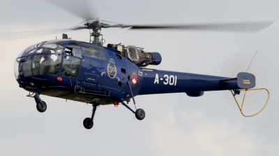 Photo ID 142988 by Mirko Krogmeier. Netherlands Air Force Aerospatiale SA 316B Alouette III, A 301