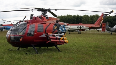 Photo ID 143045 by Jan Eenling. Germany Army MBB Bo 105P PAH 1, 86 49