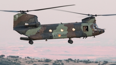 Photo ID 143059 by Alfonso S.. Spain Army Boeing Vertol CH 47D Chinook, HT 17 02