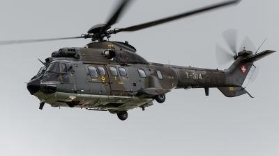Photo ID 143229 by Alex van Noye. Switzerland Air Force Aerospatiale AS 332M1 Super Puma, T 314
