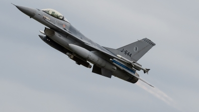 Photo ID 143277 by Alex van Noye. Netherlands Air Force General Dynamics F 16AM Fighting Falcon, J 644