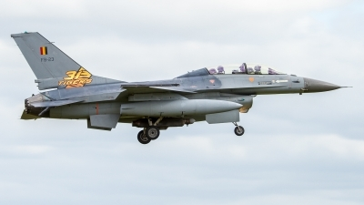 Photo ID 143313 by Philipp Hayer. Belgium Air Force General Dynamics F 16BM Fighting Falcon, FB 23
