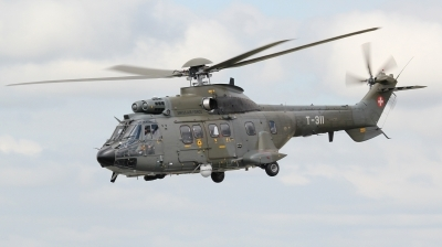 Photo ID 143356 by kristof stuer. Switzerland Air Force Aerospatiale AS 332M1 Super Puma, T 311