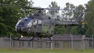 Photo ID 143364 by Niels Roman / VORTEX-images. Germany Army MBB Bo 105P PAH 1, 88 10