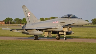 Photo ID 143371 by Niels Roman / VORTEX-images. UK Air Force Eurofighter EF 2000 Typhoon FGR4, ZJ927