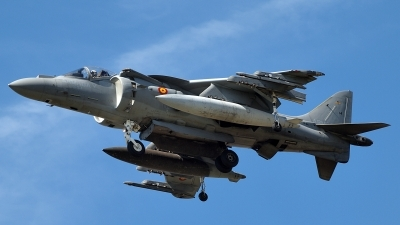 Photo ID 143438 by Steve Homewood. Spain Navy McDonnell Douglas EAV 8B Harrier II Plus, VA 1B 24