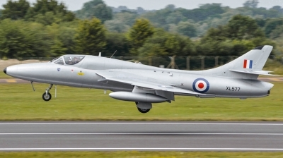 Photo ID 143543 by James Walters. Private Delta Jets Hawker Hunter T7, G XMHD