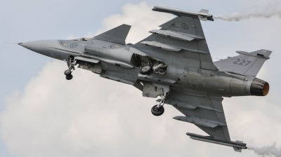 Photo ID 143536 by James Walters. Sweden Air Force Saab JAS 39C Gripen, 39227