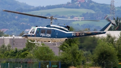 Photo ID 143741 by Fabrizio Berni. Italy Polizia Agusta Bell AB 212, MM81655