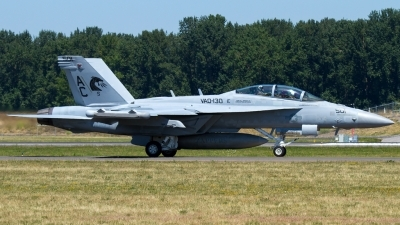 Photo ID 143829 by Russell Hill. USA Navy Boeing EA 18G Growler, 168251