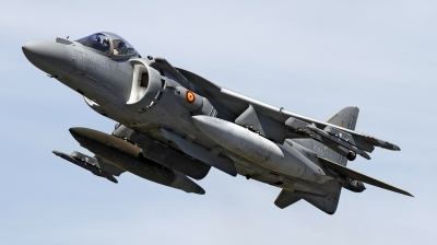 Photo ID 143838 by flyer1. Spain Navy McDonnell Douglas EAV 8B Harrier II, VA 1B 24