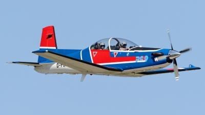 Photo ID 143867 by Rainer Mueller. Company Owned E I S Aircraft GmbH Pilatus PC 9B, D FGMT