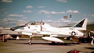 Photo ID 143906 by Robert W. Karlosky. USA Navy Douglas TA 4J Skyhawk, 154292