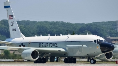 Photo ID 144015 by Kei Nishimura. USA Air Force Boeing RC 135V Rivet Joint 739 445B, 64 14846