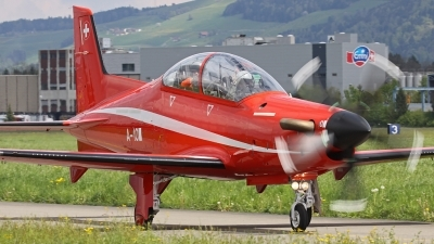 Photo ID 144218 by Andreas Weber. Switzerland Air Force Pilatus PC 21, A 107