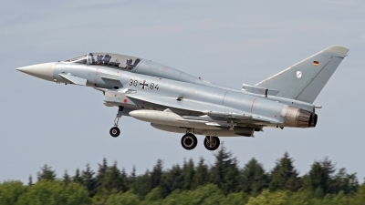 Photo ID 144051 by Niels Roman / VORTEX-images. Germany Air Force Eurofighter EF 2000 Typhoon T, 30 84