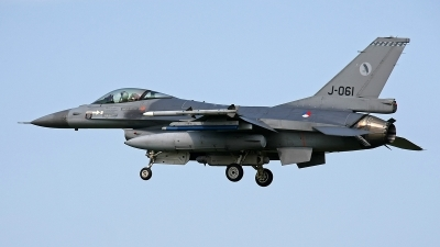 Photo ID 144071 by Jan Eenling. Netherlands Air Force General Dynamics F 16AM Fighting Falcon, J 061