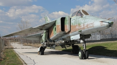 Photo ID 144782 by Stamatis Alipasalis. Bulgaria Air Force Mikoyan Gurevich MiG 23BN, 50
