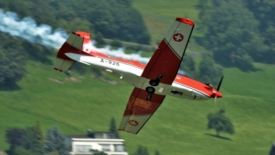 Photo ID 145685 by Martin Thoeni - Powerplanes. Switzerland Air Force Pilatus NCPC 7 Turbo Trainer, A 926