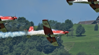 Photo ID 144424 by Martin Thoeni - Powerplanes. Switzerland Air Force Pilatus NCPC 7 Turbo Trainer, A 912