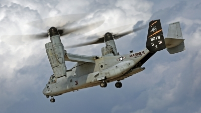 Photo ID 144541 by David F. Brown. USA Marines Bell Boeing MV 22B Osprey, 168019