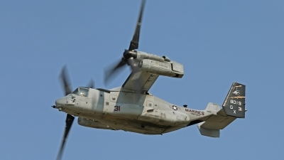 Photo ID 144771 by David F. Brown. USA Marines Bell Boeing MV 22B Osprey, 168019