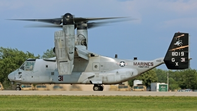 Photo ID 144540 by David F. Brown. USA Marines Bell Boeing MV 22B Osprey, 168019